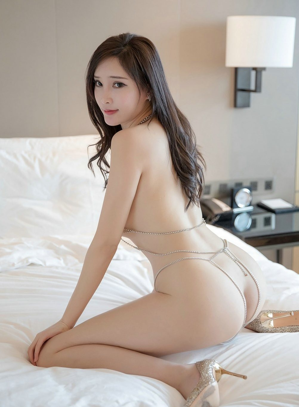 sheer lingerie hot asian girl sexy wants to be eaten and fucked