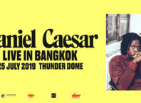 daniel caesar live in bangkok on july 25 2019